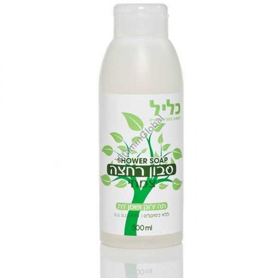 Green Tea & Olive Oil Shower Gel 500 ml - Clil