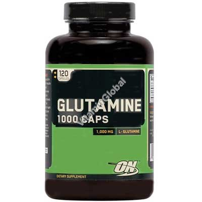 Glutamine 1000 mg 120 caps - Optimum Nutrition