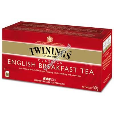 English Breakfast Tea 25 tea bags - Twinings