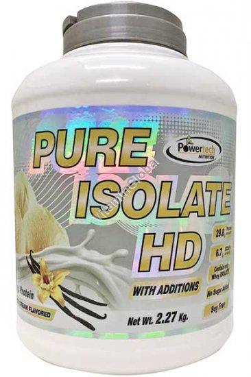 Kosher Pure Isolate HD Protein Vanilla Ice Cream 2.27kg (5 LB.) - PowerTech Nutrition