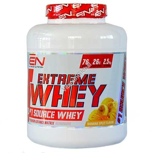Kosher Extreme Whey Protein Banana Split Flavor 2.50 kg - Extreme Nutrition