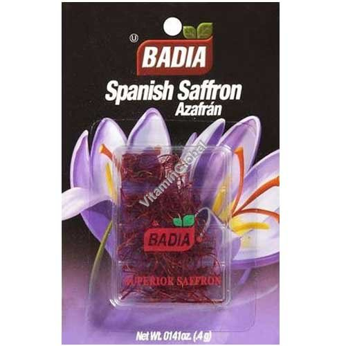 Spanish Superior Saffron 0.4g - Badia