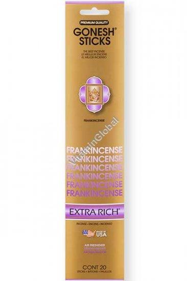 Frankincense Incense Sticks 20 count - Gonesh Sticks
