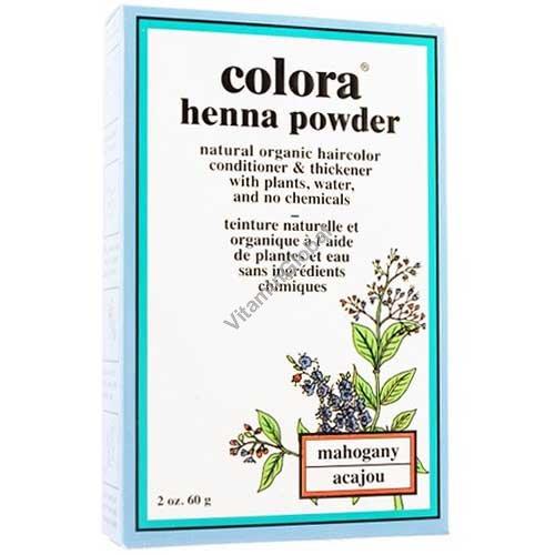 Henna Powder Mahogany 60g (2 oz.) - Colora