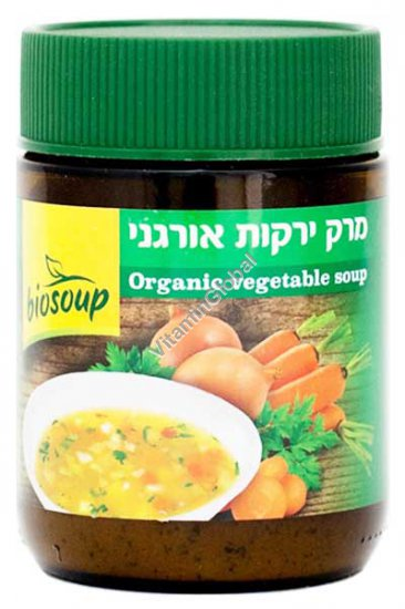 Biosoup Organic Vegetable Soup 150g - NaturaFood
