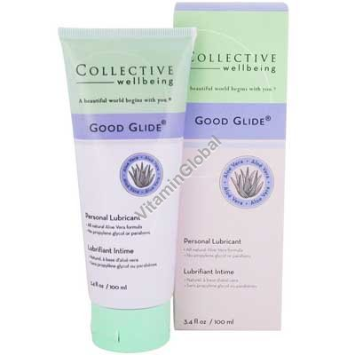 All-natural Personal Lubricant 100 ml (3.4 oz) - Good Glide