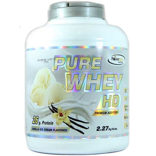 Kosher Badatz Pure Whey HD Protein Vanilla Ice Cream 2.27kg (5 LB.) - PowerTech Nutrition