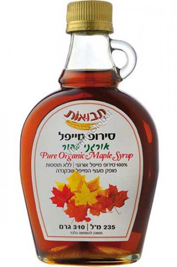 Organic Maple Syrup Grade A, Dark, Robust Taste 235 ml - Tvuot