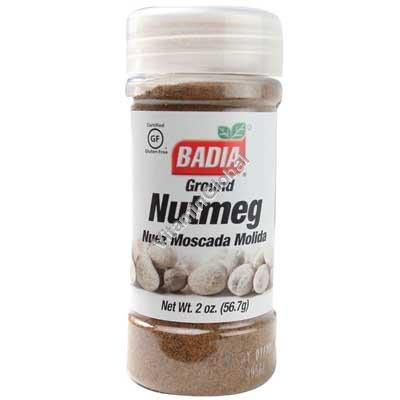 Gluten Free Ground Nutmeg 2 oz. (56.7g) - Badia