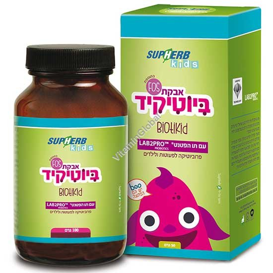 BiotiKid - Designated Probiotics Powder 100g - SupHerb