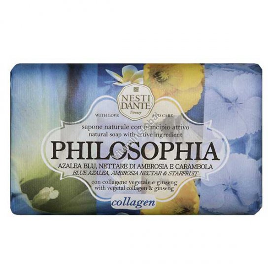 Philosophia, Collagen & Ginseng Natural Soap Bar 250g - Nesti Dante