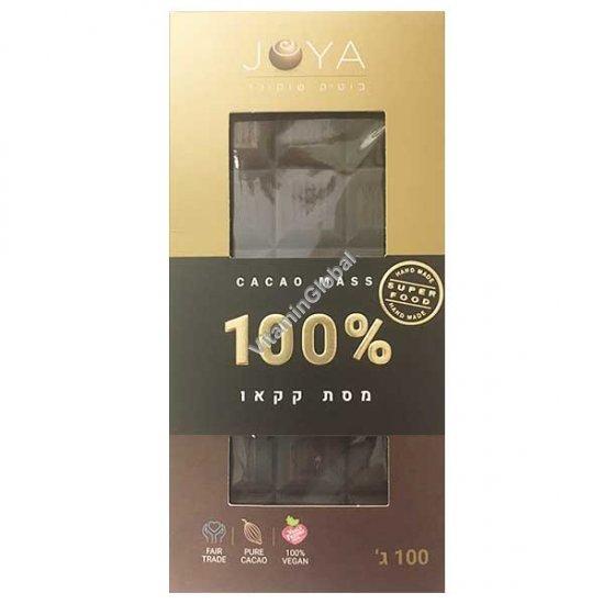 Handmade Dark Chocolate 100% Cocoa 100g - Joya