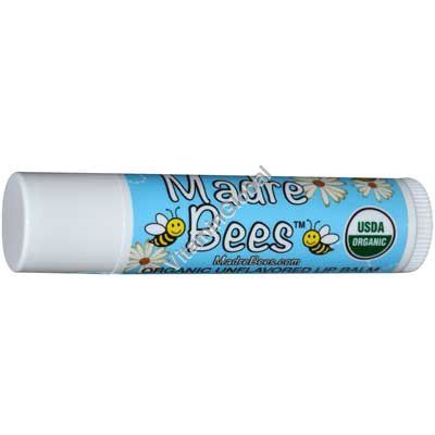 Organic Unflavored Lip Balm 4.25g - Madre Bees