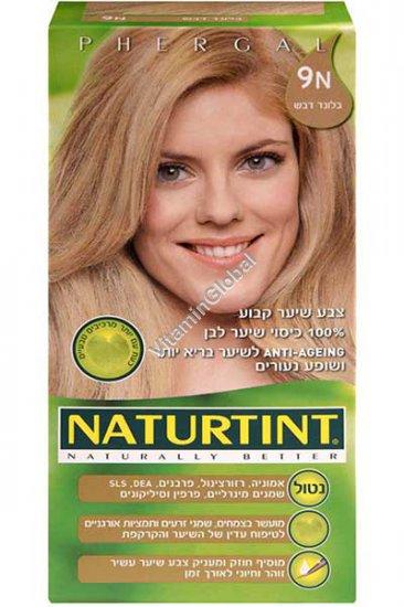 Permanent Hair Color 9N Honey Blonde - Naturtint