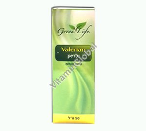 Kosher Badatz Valerian Drops 50 ml - Green Life