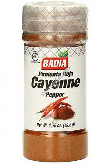 Gluten Free Ground Cayenne Pepper 49.6g - Badia