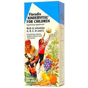 "Multi-Vitamin ""Kindervital"" for Children 250 ml - Salus"