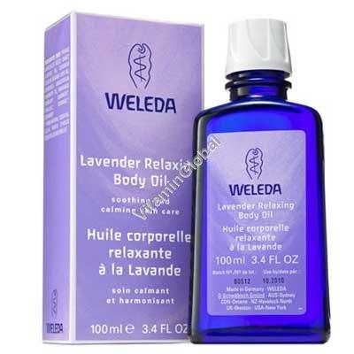 Lavender Body Oil 100 ml - Weleda