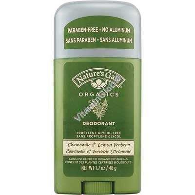 Deodorant Chamomile & Lemon Verbena 48 - Nature\'s Gate