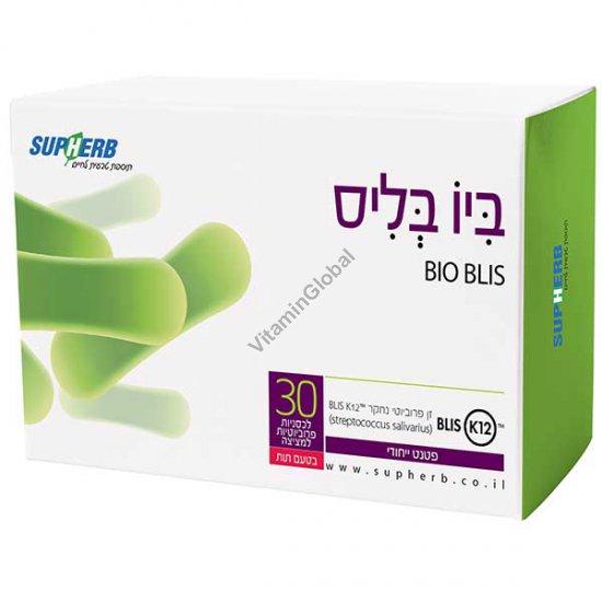 Bio Blis K12 Probiotic 30 lozenges - SupHerb