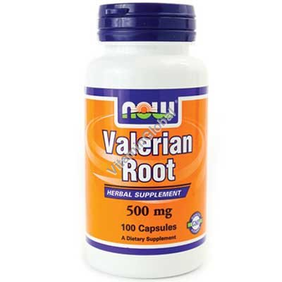 Valerian Root 500 mg 100 caps - NOW Foods