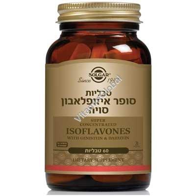 Super Soy Isoflavones 60 tablets - Solgar