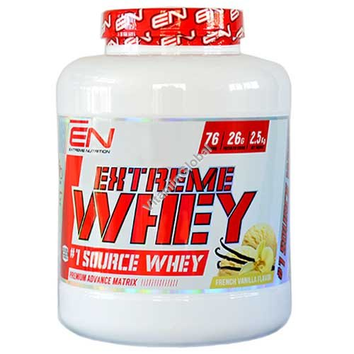Kosher Extreme Whey Protein French Vanilla Flavor 2.50 kg - Extreme Nutrition