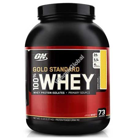 Gold Standard - Whey Protein Banana Cream 2.270g - Optimum Nutrition
