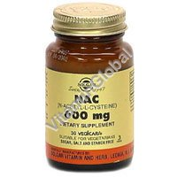 NAC 600 mg (N-Acetyl-L-Cysteine) 30 caps - Solgar