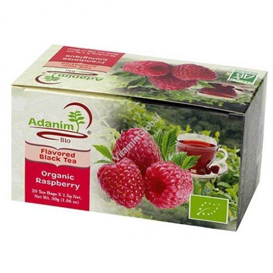 Organic Raspberry Tea 20 Tea Bags - Adanim