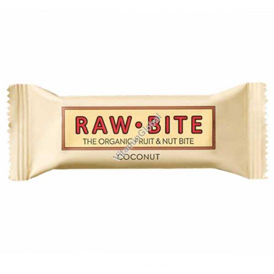 Organic Coconut Bar 50g - Raw Bite