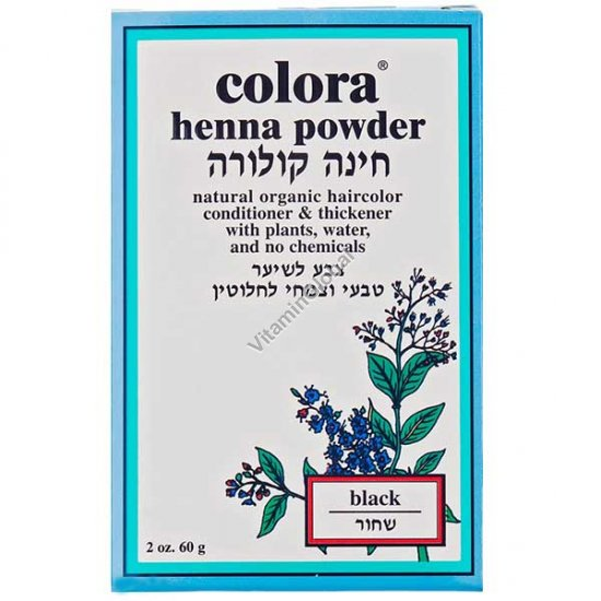 Henna Powder Black 60g (2 oz.) - Colora