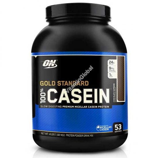 Gold Standard - 100% Casein Protein Chocolate Supreme 1.82kg - Optimum Nutrition