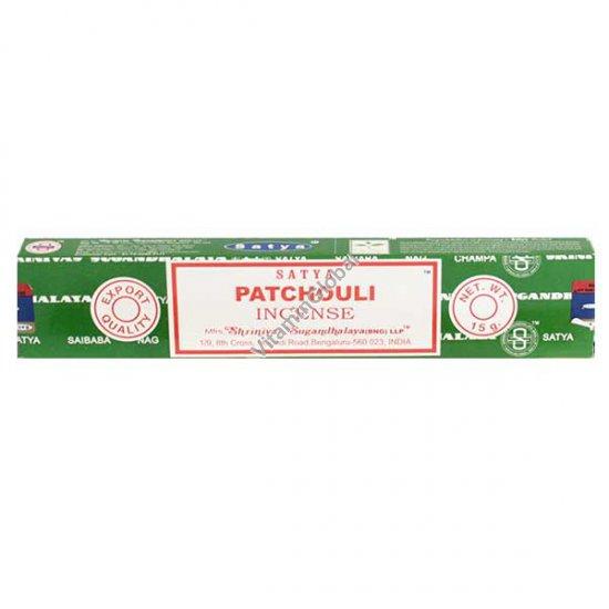 Patchouli Hand-Rolled Incense Sticks 15g - Satya