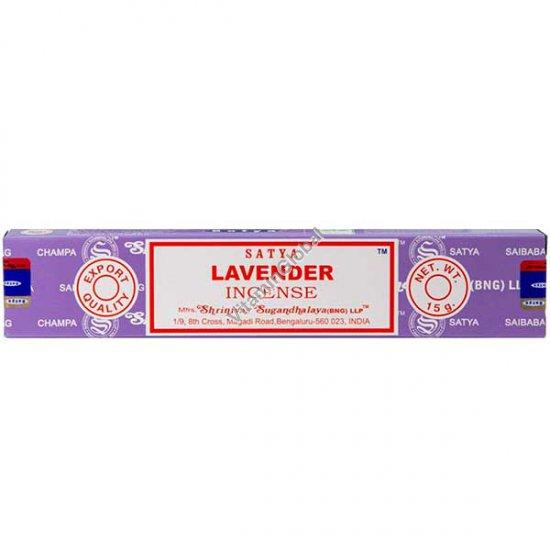 Lavender Hand-Rolled Incense 15g - Satya