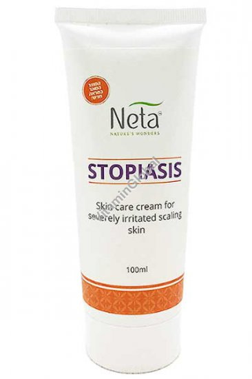 Stopiasis skin ointment for the relief of psoriasis and severe dandruff 100 ml - Neta