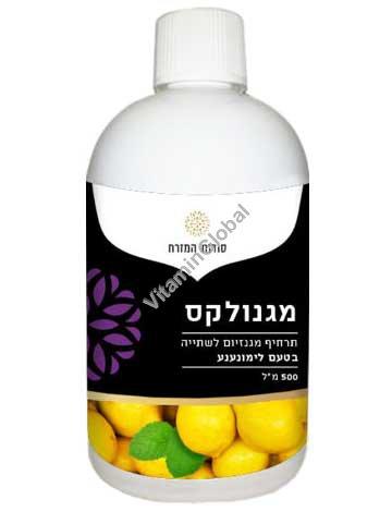 Magnolax for the treatment of constipation, Lemon-Mint Flavor 500 ml - Oriental Secrets
