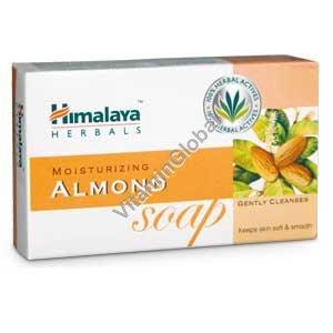 Moisturizing Almond Soap 75g - Himalaya Herbals