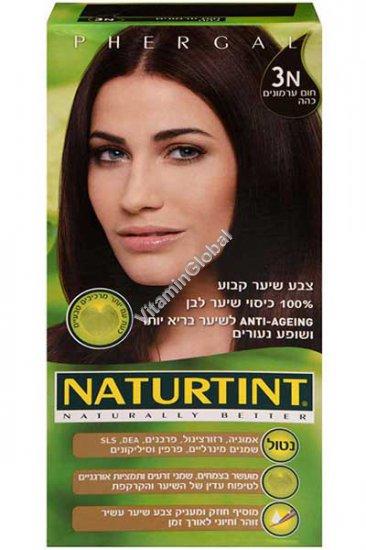 Permanent Hair Color 3N Dark Chestnut Brown - Naturtint