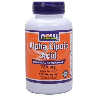 Alpha Lipoic Acid 250 mg 120 capsules - NOW Foods
