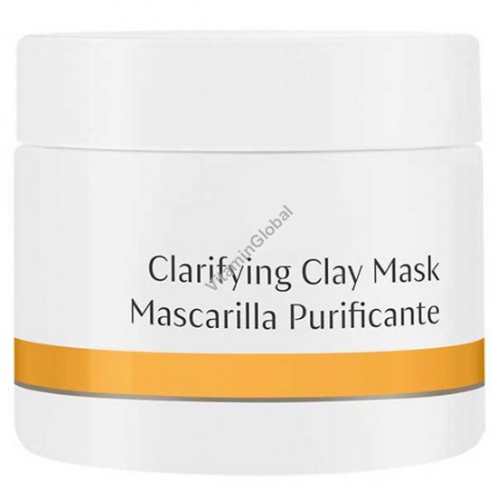 Clarifying Clay Mask 90g - Dr. Hauschka