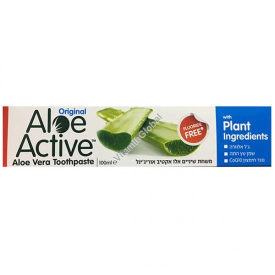 Aloe Vera Toothpaste 100ml (125g) - Aloe Active