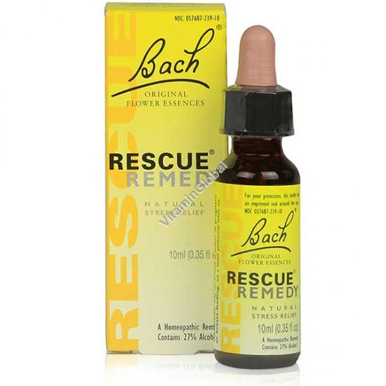 Rescue Remedy - Natural Stress Relief 10ml - Bach