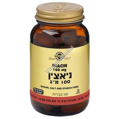Niacin B3 100 mg 100 tabs - Solgar