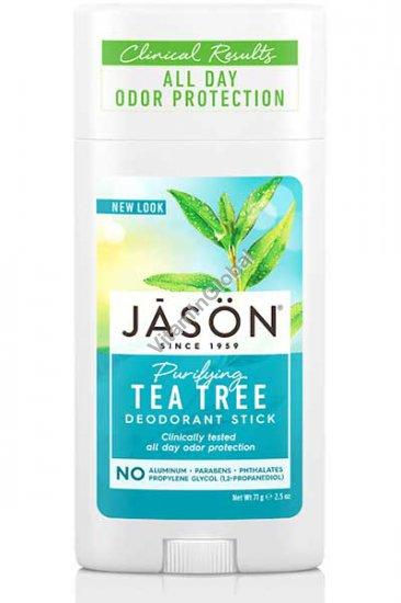 Purifying Tea Tree Deodorant Stick 71g (2.5 oz) - Jason