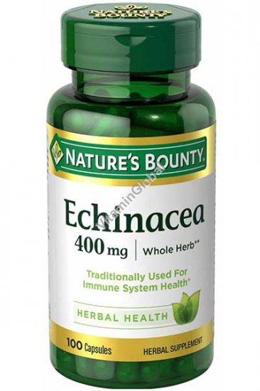 Echinacea 400mg 100 capules - Nature\'s Bounty