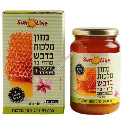 Royal Jelly 37000 mg in Pure Honey 450g - Sun Line