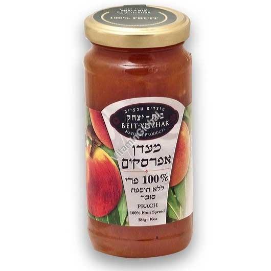 No Sugar Added Peach Jam 284g - Beit Yitzhak