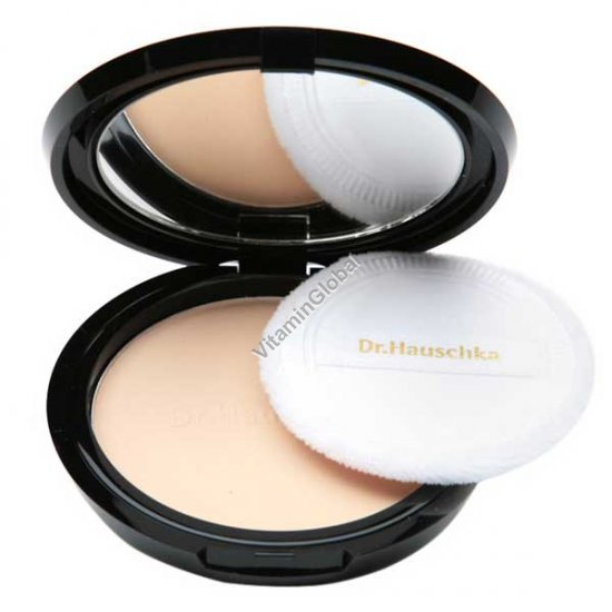 Translucent Face Powder Compact 9g (0.30 oz) - Dr. Hauschka