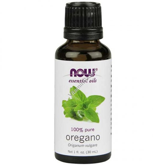 Oregano Oil 30ml (1 fl oz) - Now Essential Oils